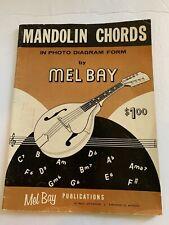 Mandolin Chords Music Book By Mel Bay 1963
