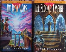 Paul Kearney THE IRON WARS / THE SECOND EMPIRE (Monarchies of God ) 1st eds.