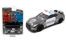 GREENLIGHT 1:64 MIJO EXCLUSIVES 2015 NISSAN GT-R (R35) POLICE DIECAST CAR 51122