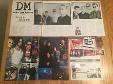 Depeche Mode magazine clippings cuttings photos