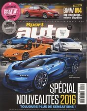 SPORT AUTO n°645 10/2015 MUSTANG GT ASTON GT 12 BMW M4 NISSAN GT-R NISMO