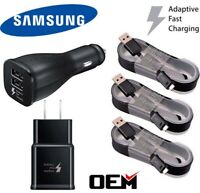 OEM Fast Charging Wall Charger + Micro USB Cable For Samsung Galaxy S6 S7 Note 5