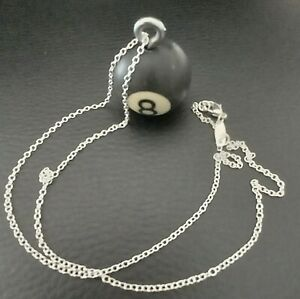 Pool Table N°8 Black Ball Necklace