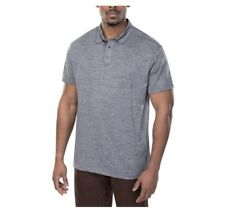 Vertx Assessor Polo Shirt Heather Grey Size Medium
