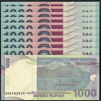 INDONESIA Asia Set of 8 pcs all UNC 1-50 Sen and 1,2 1//2,10 Rupiah 1961-63