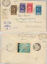 ITALIA REGNO: Sass 458/61 TITO LIVIO su BUSTA 1942 - chiudilettere PROPAGANDA