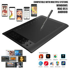 "10x6"" Digital Graphics Drawing PC Tablet Artist Board Pad + 8192 Pen Pressure"