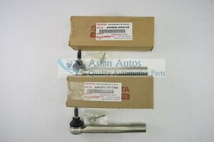 Genuine Toyota Sienna 11-18 Outer Tie Rod Ends 4547009130 and 4546009210 OEM