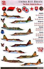 Linden Hill Decals 1/48 SUKHOI Su-25 FROGFOOT in Global Service Part 1