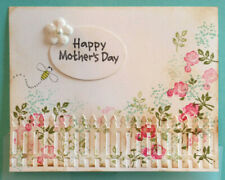 Stampin Up reitred, BABY BLOSSOMS cm stamps PICKET FENCE Die~ mothers day Spring
