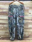 RealTree Womens Camouflage Hunting Medium Weight Pants Ladies L x 32 Excellent