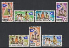 Togo - 1976, Togolese Scouts / Scouting set - F/U - SG 613/19 (i)