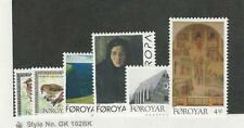 Faroe Islands, Postage Stamp, #300-303, 310-11 Mint NH, 1996 Birds