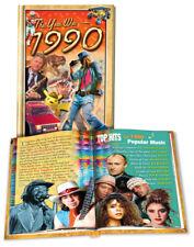 1990 Hardcover Mini Book: 30th Birthday or Anniversary Gift