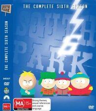 South Park : Season 6 (DVD, 2009, 3-Disc Set) Isaac Hayes, Mary Kay Bergman