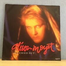 "ALISON MOYET All Cried Out 1984 UK 12"" Vinyl Single EXCELLENT CONDITION Yazoo"