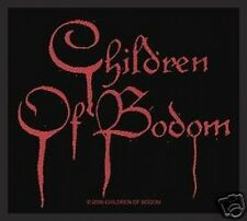 CHILDREN OF BODOM blood logo 2008 - WOVEN SEW ON PATCH official merchandise