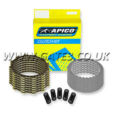 SUZUKI RM85 RM 85 2002-2015 Quality Apico Replacement Clutch Plate & Spring Kit