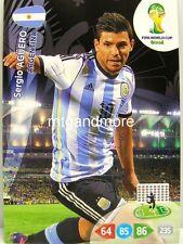 Adrenalyn XL-sergio aguero-argentina-FIFA World Cup Brazil 2014 WM