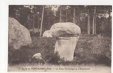France, Foret de Fontainebleau, Le Faux Champignon d'Apremont Postcard, A733