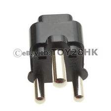 1 x South Africa BS546 15A Travel Adapter Type M Standard Change World plug BK