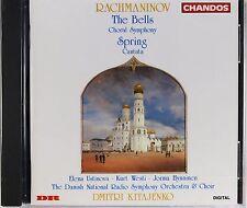 Rachmaninov - The Bells, Spring, Kitajenko, New CD, Rare, OOP