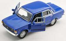 Spedizione LAMPO FIAT 125 P Blu/Blue Welly Modello Auto 1:34 NUOVO & OVP