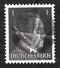 Mint Never Hinged Hitler Head Obliteration Post WWII #1 A