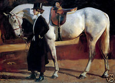 QUALITY CANVAS  ART PRINT * ALFRED MUNNINGS * My Horse, My Friend