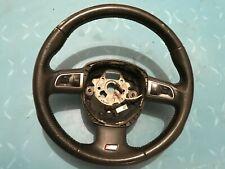 OEM Audi A4 A5 A6 A8 Q7 8T0 8K0 S-Line Leather Steering Wheel Multi function