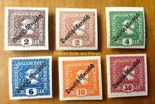 EBS Austria Deutschösterreich 1919 Newspaper Stamps 247-251 MNH**
