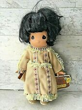 Precious Moments 1994 Children of the World MORNING GLORY American Indian Doll