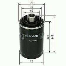 1x Bosch Filtro Olio P7080 F026407080 [4047024639348]
