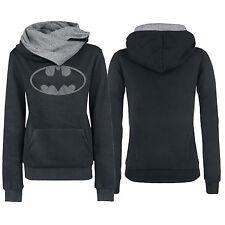 Damen Batman Kapuzenpullover Pullover Pulli Kapuze Hoodie Sweatshirt Jumper Tops