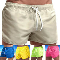 Men's Casual Sports Polyester Running Bodybuilding Fitness Shorts Gym Pants 1pcs