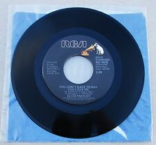 Elvis Presley 447-0678 You Don't Have To Say You Love Me / Patch It Up * MINT- *