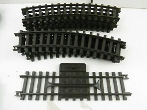 New Ray  Plastic G Scale Track 9 Curves & 1 Straights. 1998 Train