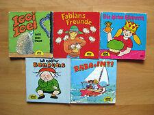 5 verschiedene Pixi Bücher Nr. 412 - 562 - aus den 80er Jahren - nur 1. Auflagen