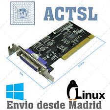 PCI Tarjeta Puerto Paralelo Perfil Bajo SPP/PS2/EPP/ECP (TPE-PCIPARAL)