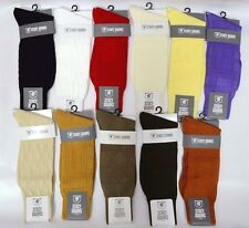 Mens Stacy Adams Socks Solid Color Dress Casual Many Colors