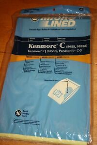 Home Care Canister Vacuum Pape Bags - 10 Pieces