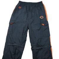 Chicago Bears Men's Medium Blue Orange Convertible Cargo Pants