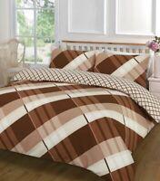 Duvet Quilt Cover Bedding Set + Pillow Cases Single Double King Super King Size