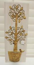 MOTHERS DAY GIFT MANICURED METAL TOPIARY TREE WALL HANGING WOOD DECORATION*NEW