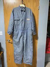 New listing Vtg Jc Penneys Bic Mac Sanforized Herringbone Cotton Coveralls Jumpsuit Zip-up