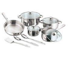 Great Gatherings Stainless Steel 12-Piece Cookware Set