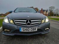 Mercedes benz E350 coupe Blue efficiency Sport