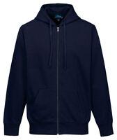 Tri-Mountain Men's New Kangaroo Pocket Drawstring Hooded Winter Sweatshirt. F590