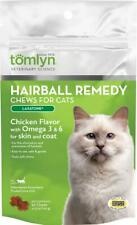 (2 Pack) Tomlyn Laxatone Soft Chews Hairball Formula | Chicken Flavor 60 Count