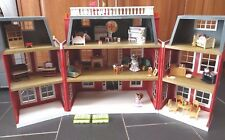 SYLVANIAN FAMILIES REGENCY HOTEL LUXURY LIVING ROOM GIRLS BEDROOM KITCHEN FIGURE